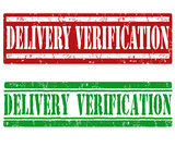 Delivery verification stamps poster
