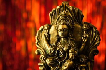 Indische Gottheit Statue