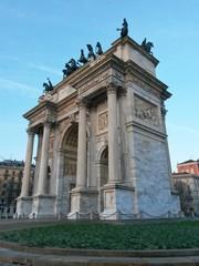 Arco della Pace. Milan. Italy