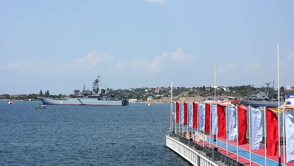 Parade of Russian Navy