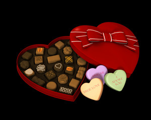 Chocolate for Valentine day.