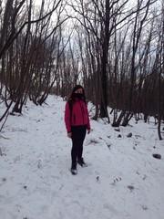 in mezzo alla neve