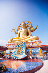Big Buddha Temple in Koh Samui, Thailand
