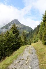Weg zur Franz-Senn-Hütte