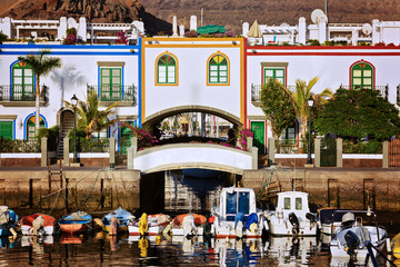 Hafen von Puerto Mogan – Gran Canaria
