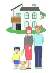 親子とマイホーム