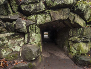 Through the tunnel darkly!