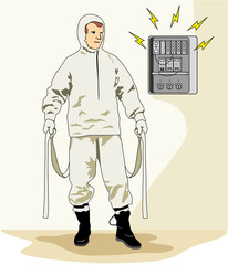Insulating clothing safety equipment