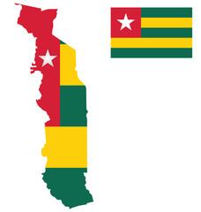 Togolese Republic Flag