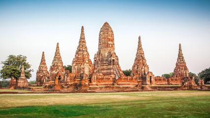 Wat Chai Wattanaram at Thailand.