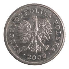 polish 20 groszy coin