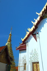 Thailand temple to the faith of the people.