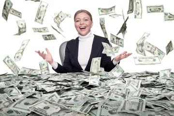 cash rain