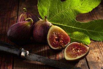 figs on wood