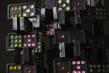 Domino Colorful