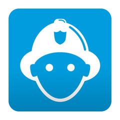 Etiqueta tipo app bombero