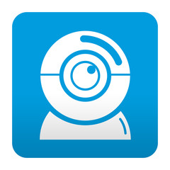 Etiqueta tipo app camara web