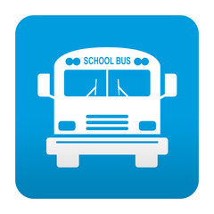 Etiqueta tipo app school bus