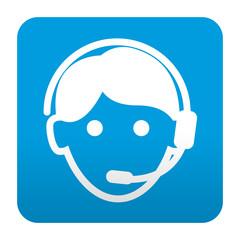 Etiqueta tipo app teleoperador