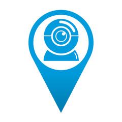 Icono localizacion camara web