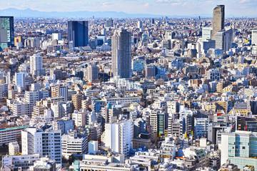 東京の代官山の高級住宅街
