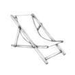 Einfacher Liegestuhl