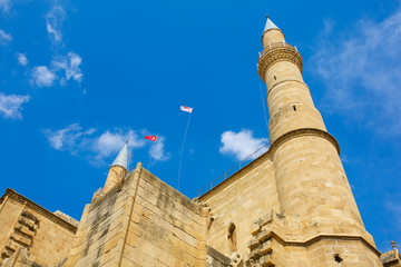 Selimiye Mosque in Nicosia, formerly Cathedrale Sainte Sophie.Ni