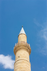 Minaret of famous old Selimiye Mosque