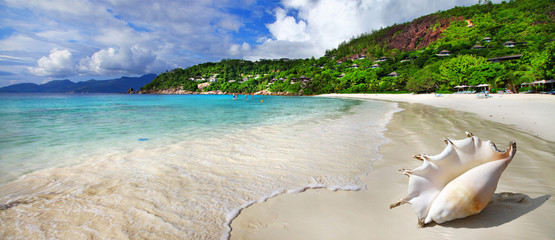 chill out in tropical islands. Seychelles