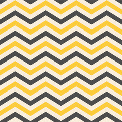 Fashion zigzag pattern in yellow colors