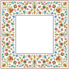 artistic ottoman pattern series twenty six