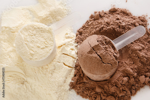 Protein powder Photo by blackday