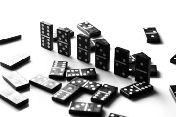 Pieces of domino