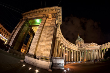 Kazan Cathedral in Saint-Petersburg
