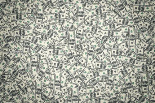 Leinwanddruck Bild American dollars