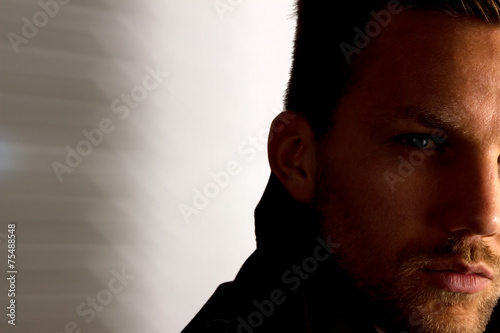canvas print picture Portrait eines Mannes