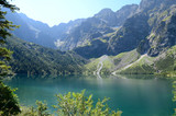 Mountain lake (Morskie Oko in Tatras)