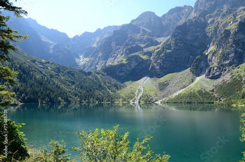 Mountain lake (Morskie Oko in Tatras) © Artur Henryk