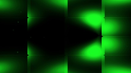 Abstract animated blinking dark green divided background