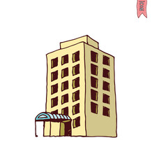 Building Icons Set, vector illustration