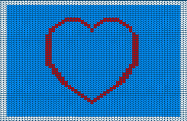 mated. texture. heart. Valentine's Day.