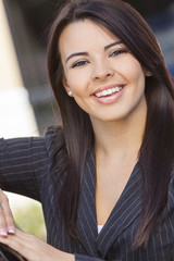 Latina Hispanic Business Woman Businesswoman