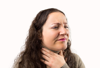 suffering from throat problemswith