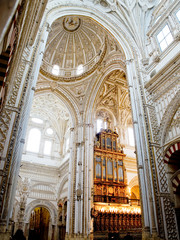 Cathedral Mosque, Mezquita de Cordoba. Andalusia, Spain
