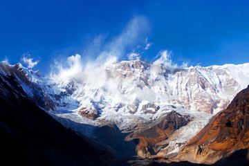 South face of Annapurna mount, Nepal