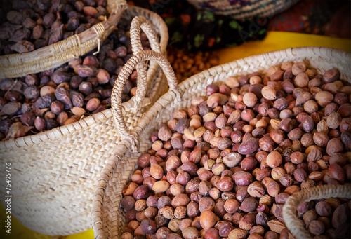 Fotobehang Marokko Argan seeds