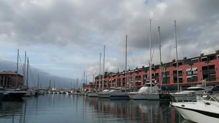 Genova.Marina porto antico