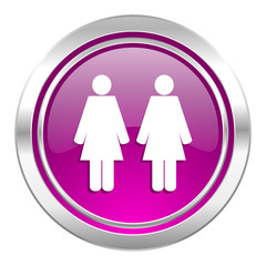 couple violet icon people sign team symbol