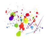Fototapety macchie, macchia, colori,schizzi, schizzo