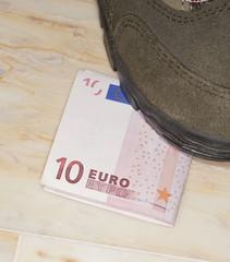 Euros trampled